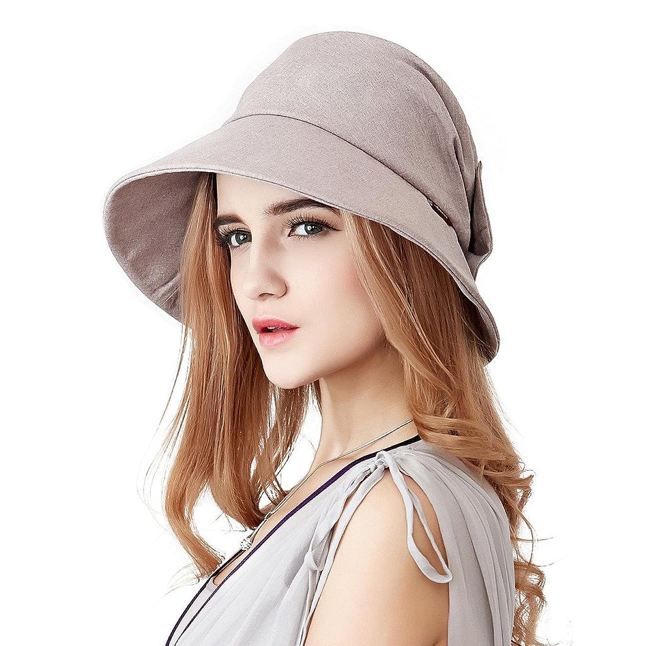 Home Prefer Womens Sun Hat UPF50+ Beach Hat Foldable Light Weight Sun Protective