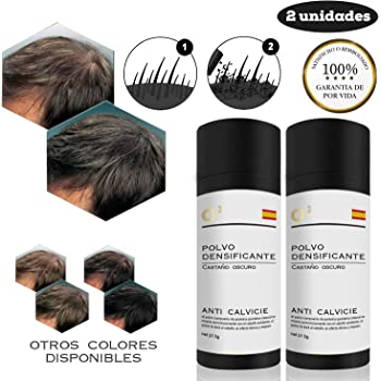 Hilai 1PC Hair Building Fibers,Fibre Construcción de pelo Fibras de Cabello Naturales,Cabello fino y Escaso para Hombres y Mujeres-Efecto Inmediato(Marrón medio): Amazon.es: Belleza