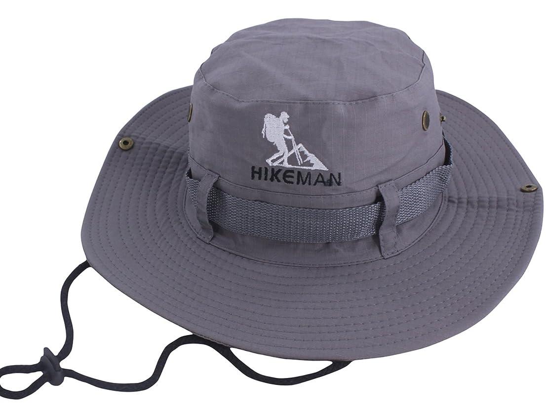 逃す生活数字サファリハット 日よけ帽子 つば広い UVカット 折りたたみ ユニセック アウトドア 釣り ハイキング 登山 通気性
