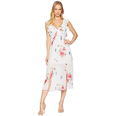 ASTR the Label Milani Dress (Ice Blue Multi Floral) Women
