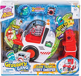Grossery Gang The Series 3 Clean Team Street Sweeper (Dispatched From UK)