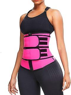 مربی کمر گرم عرق گرم Voguad Womens Workout Sauna Band Slimming Body Shaper Belter Sport Girdle کمربند