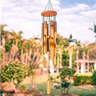 VEWOGARDEN Bamboo Wind Chimes Outdoor Chimes for Garden, Patio, Home Decor