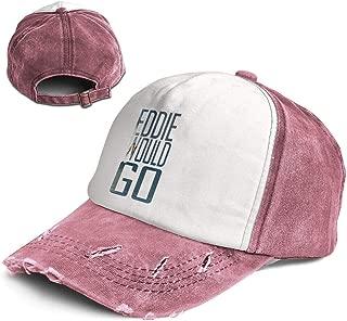 Liusgit Eddie Aikau Would GO Men for Baseball Hat Adults Dad Trucker Youth Softball Cap