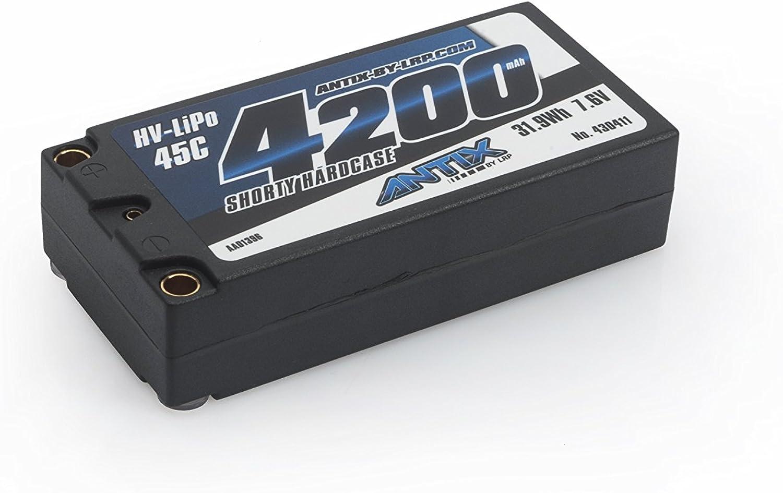 edición limitada ANTIX by LRP 430411 - Batería LiPo LiPo LiPo 45C, 4200 Shorty Graphene, 7,6V, Funda rígida  bajo precio