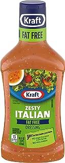 Kraft Fat Free Zesty Italian Dressing (16 oz Bottle)