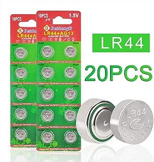 Beidongli 20 Pack AG13 LR44 357 303 SR44 Battery 1.5V Button Coin Cell Batteries