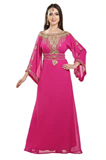 Genie Aladdin Fancy Maxi Dress Evening Wear Night Gown for Arabian Ladies 7170