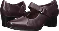 Aubergine Leather