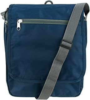 Travelon Triplogic AntiTheft RFID Blocking Slim Travel Luggage Crossbody Day Bag (Navy)