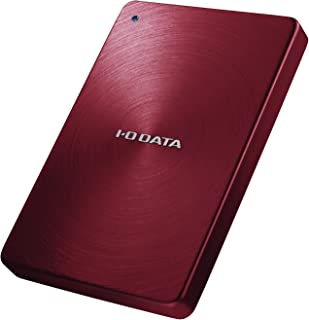 I-O DATA 外付けHDD ハードディスク 2TB ポータブル カクうす アルミボディ 日本製 HDPX-UTA2.0R