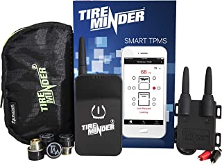 TireMinder Smart TPMS with 4 Transmitters for RVs, MotorHomes, 5th Wheels, Motor Coaches and Trailers