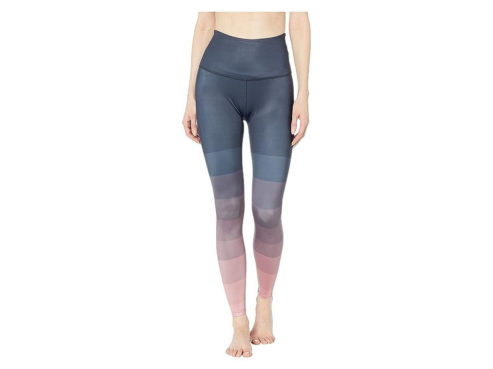 Beyond Yoga Engineered Lux High-Waisted Midi Leggings (Island Ombre) Women