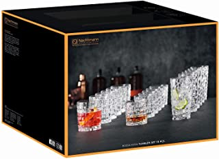 Nachtmann - Glas, Becher - Bossa Nova - Kristallglas - 18 teiliges Set