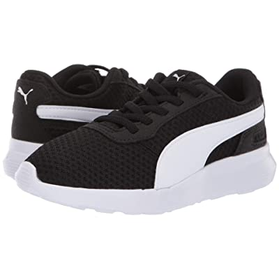 Puma Kids ST Activate AC (Little Kid/Big Kid) (Puma Black/Puma White) Kids Shoes
