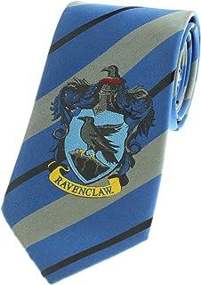 Premium Harry Potter Tie Striped House Crest Necktie Neckwear