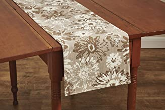 Park Designs Brinley 13 Inches x 54 Inches Printed Cotton Table Runner