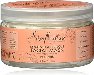 Shea Moisture Coconut Hibiscus Facial Mask W Songyi Mushroom