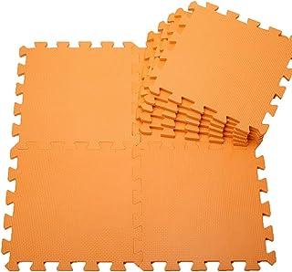 QAZXS 6 pc/Set Baby EVA Foam Puzzle Play Mat/niños Alfombras Juguetes Alfombra para niños Ejercicio Entrelazado Alfombrill...