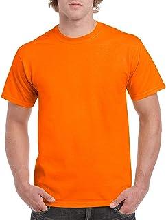 Gildan Mens G5000 Heavy Cotton Adult T-Shirt, 2-Pack Short Sleeve Shirt