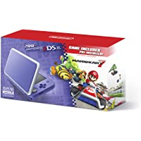 Nintendo 2DS XL System with Mario Kart 7 Pre-installed (Purple & Silver)