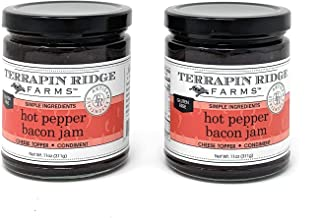 Terrapin Ridge Farms Hot Pepper Bacon Jam 11 OZ (Pack Of 2)