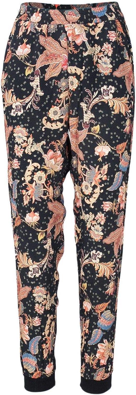Desigual Women's 18WWPW13BLACK Black Viscose Pants