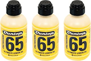 Dunlop 6554 Formula 65 Lemon Oil 3 Pack Bundle