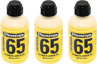 Dunlop 6554 Formula 65 Lemon Oil 3 Pack Bundle