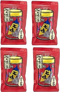 八幡屋礒五郎 七味ごま 袋入 60g (4個)
