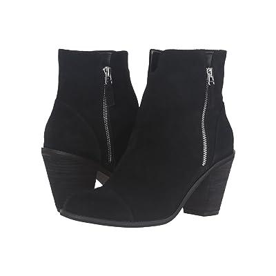 SoftWalk Fairhill (Black Cow Suede Leather) Women