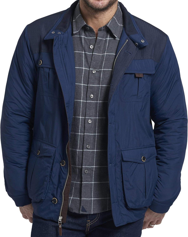 UNTUCKit Rodier - Navy Jacket 5 Omaha Mall ☆ popular 100% Nylon Men's