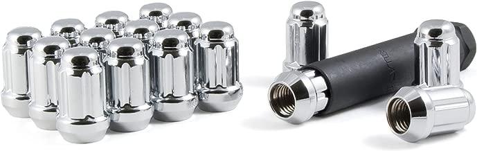 Gorilla Automotive 21182HT Small Diameter Acorn Chrome 4 Lug Kit (1/2
