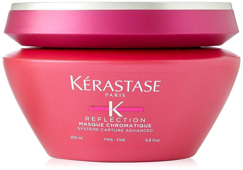スピーチ敬意を表して風刺ケラスターゼ Reflection Masque Chromatique Multi-Protecting Masque (Sensitized Colour-Treated or Highlighted Hair - Fine Hair) 200ml/6.8oz並行輸入品