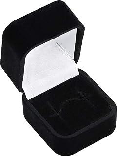 Ringkästchen Schmuckkästchen Ring-Box Ringetui Schmuckschachtel Schmucketui GRÜN