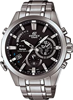 Men's Casio Edifice Tough Solar Stainless Steel Watch