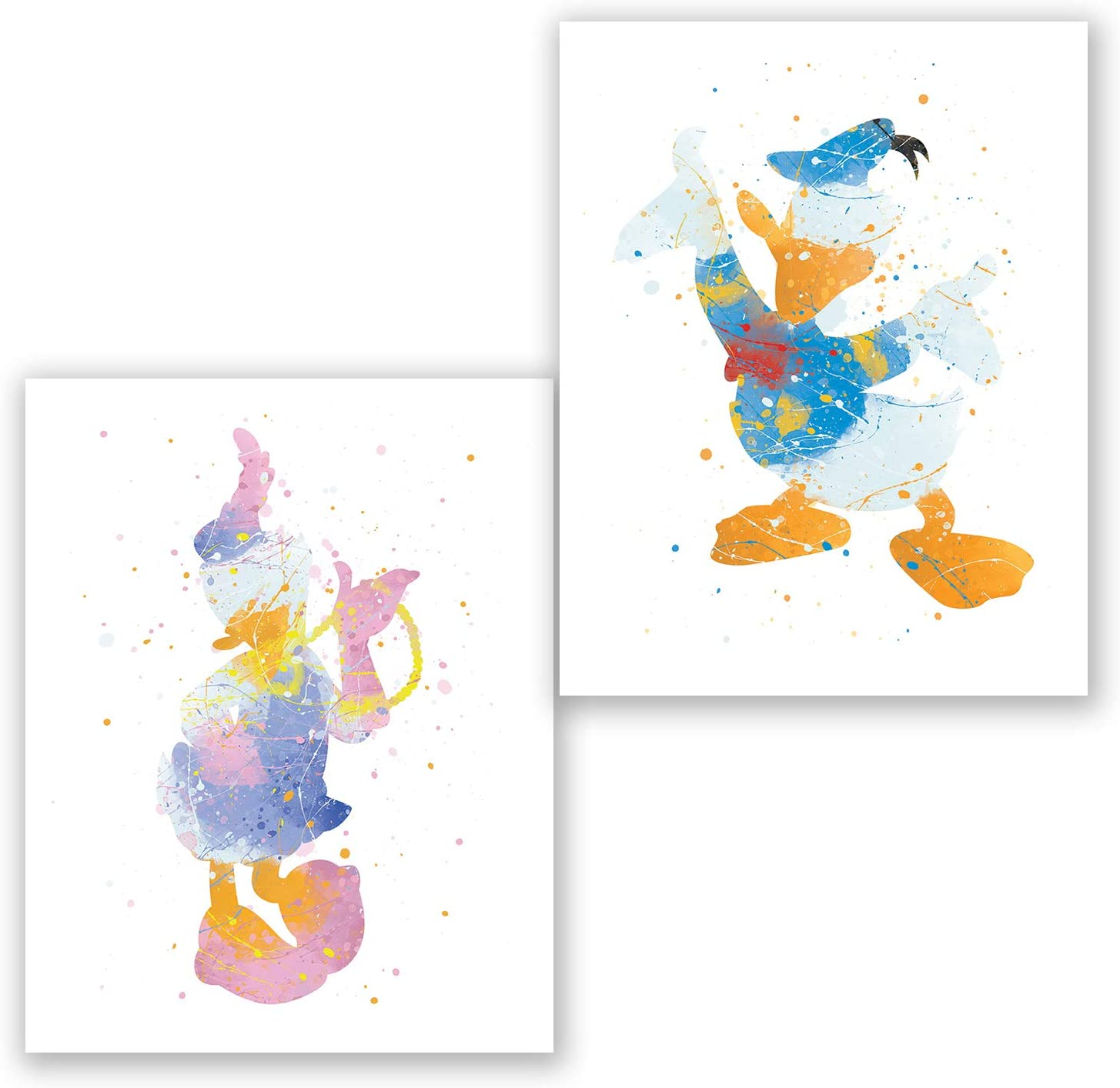 Daisy Duck Dictionary Art Print Poster Picture Walt Disney Mickey Mouse Donald