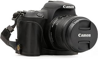 MegaGear MG1306 Estuche para cámara fotográfica - Funda (Funda Canon EOS 200D Tirante para Hombro Negro)