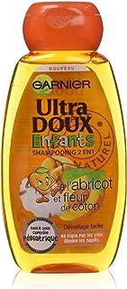 Garnier Shampoo 2 in 1, Ultra Morbido, Bambini, 300 ml, Pacco da 3