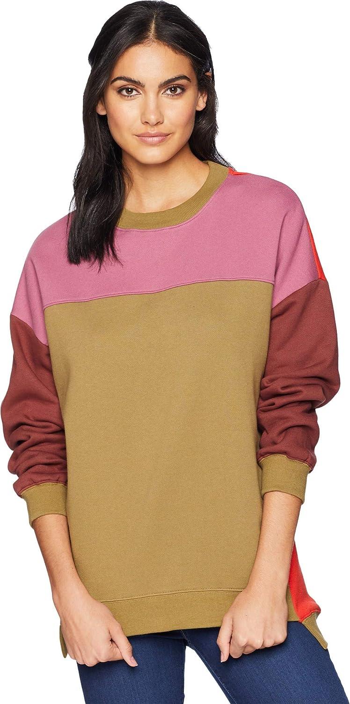 [BLANKNYC] Blank NYC Womens Multicolord Sweatshirt in Boozy Rainbow