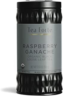 Tea Forte Loose Tea Canister Black Tea, Raspberry Ganache