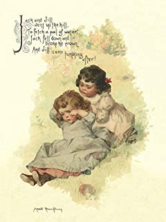 Posterazzi PDX454860SMALL Nursery Rhymes: Jack and Jill Photo Print, 18 x 24, Multi
