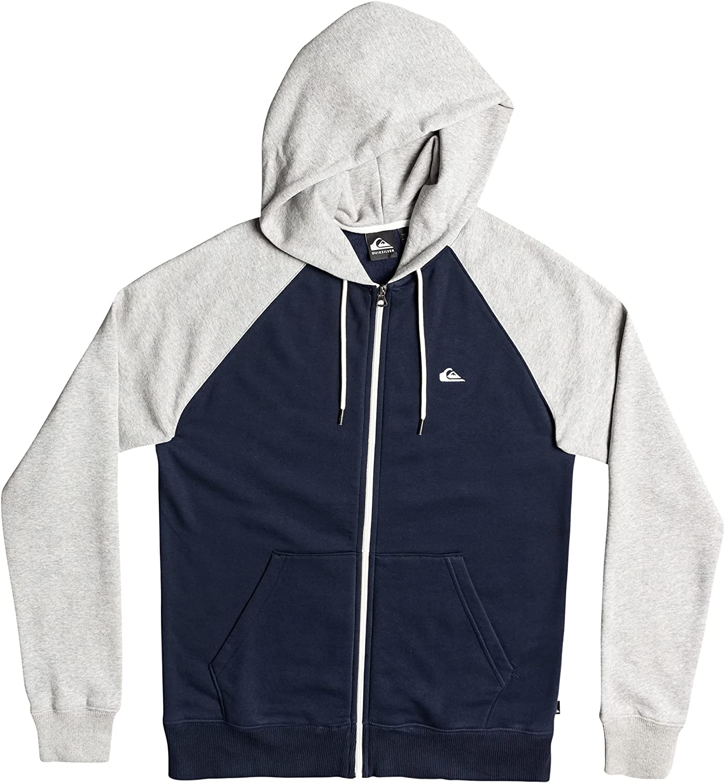 Quiksilver Men's Everyday Today's only Sweatshirt Zip Hoodie discount