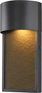 Globe Electric 44227 Sutherland 8.5W LED Integrated Outdoor Wall Sconce