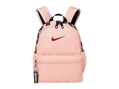Nike Kids Brasilia JDI Mini Backpack (Little Kids/Big Kids) (Bleached Coral/University Red) Backpack Bags