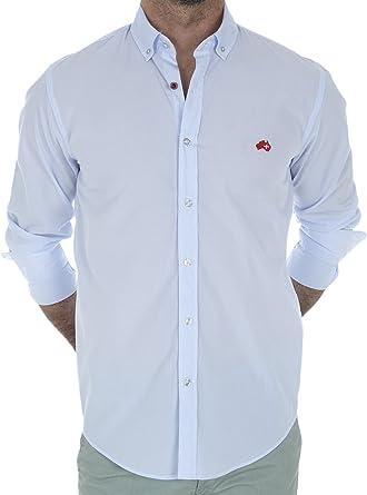 Altonadock PV18275020600 Camisa Casual, Azul (Rayas), X-Large ...