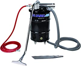 Guardair Pneumatic Vacuum N301DC 30 Gallon Drum Complete Kit with D Venturi Head, 1.5-Inch Inlet, Hose and Tools