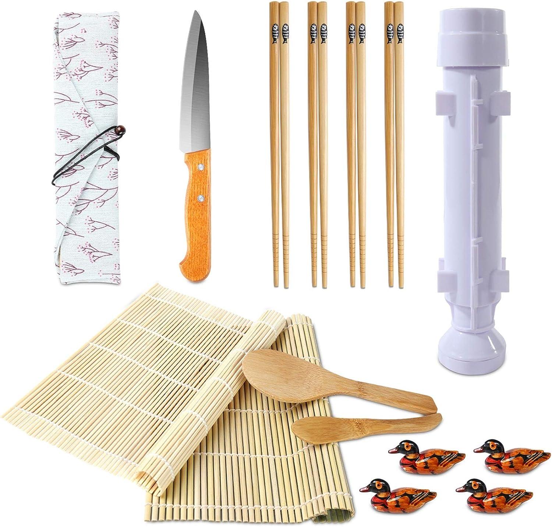 Sushi Making Ranking TOP19 Kit Bamboo Mat All Direct store One Bazooka Mak In