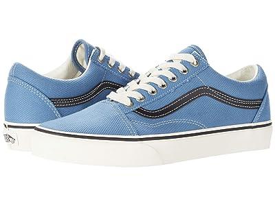 Vans Old Skooltm (Earth Coronet Blue/Marshmallow) Skate Shoes