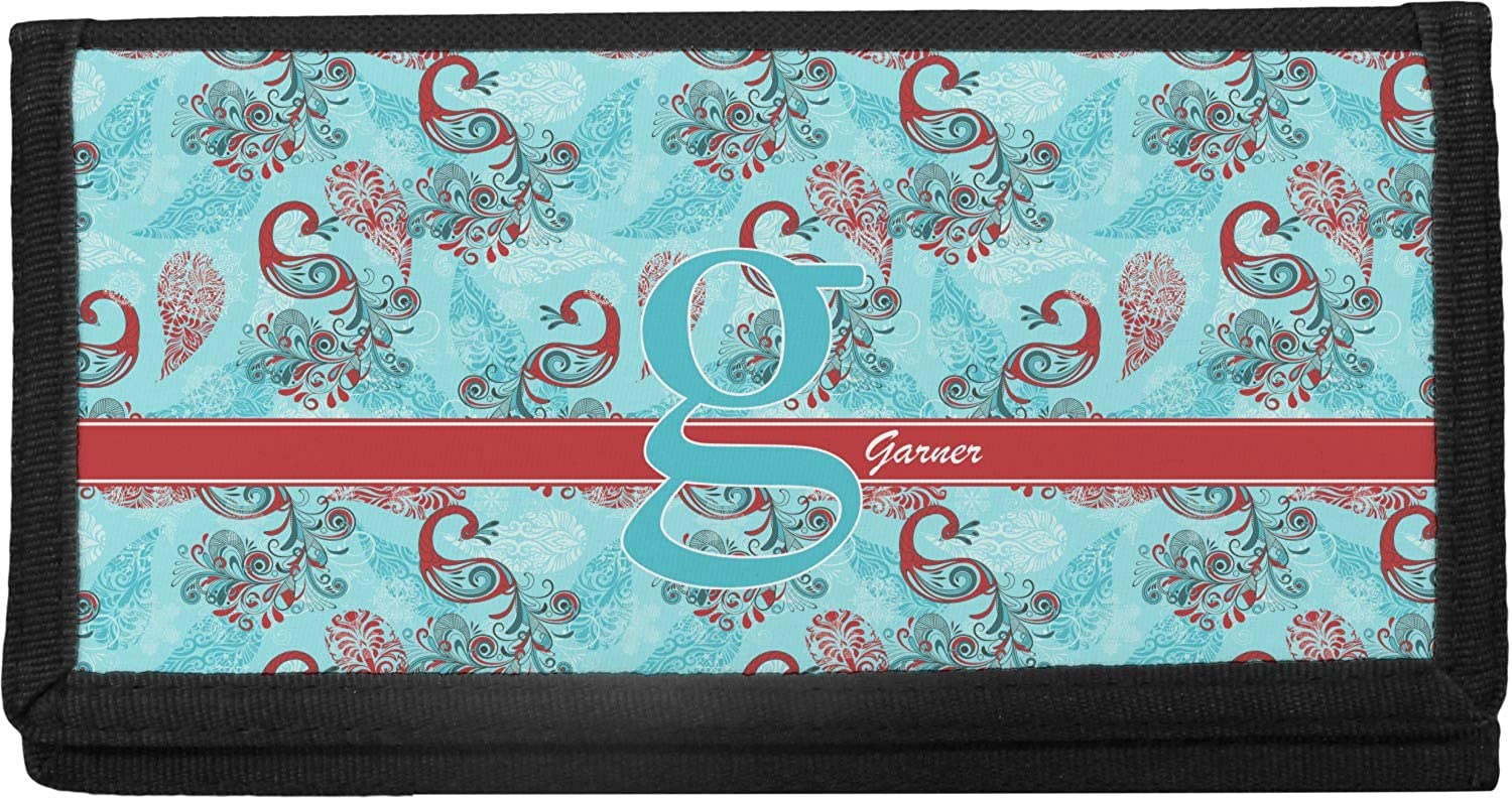 Peacock Canvas Max 71% OFF All items free shipping Checkbook Personalized Cover
